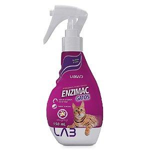 EnziMac Gatos - 150ml Eliminador De Odores E Manchas