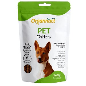 Suplemento Vitamínico Organnact Pet Palitos 160G