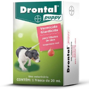 Vermífugo Drontal Puppy 20ml –Bayer