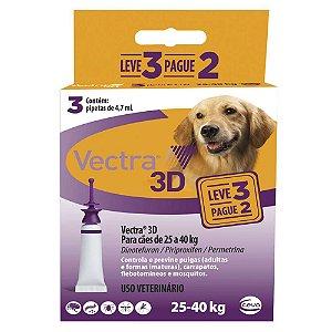 Vectra 3D Cães 25 A 40kg Leve 3 Pague 2