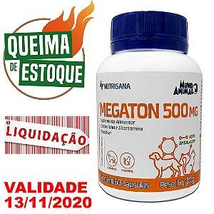 Megaton 500mg 60 cápsulas Mundo Animal - Liquidação