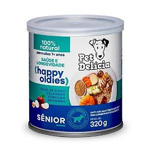Ração Úmida Para Cães Pet Delicia Sênior 7+ 320g