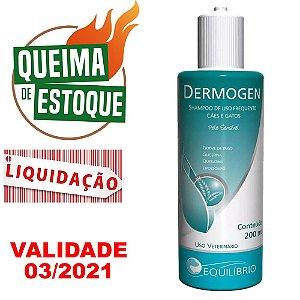 Shampoo Dermogen Pele Sensível 200ml - Agener  - LIQUIDAÇÃO