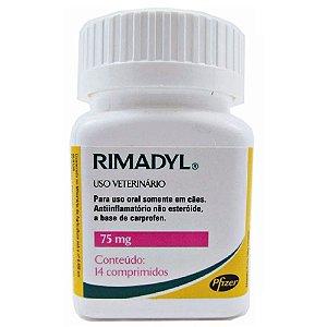 Anti-inflamatório Rimadyl 75mg 14 Comprimidos - Zoetis