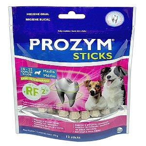 Palitos Higiene Bucal Prozym Cães Médios 150g