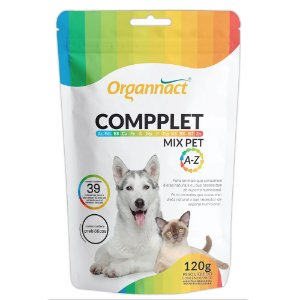 Suplemento Vitamínico Compplet Mix Pet 120g - Organnact