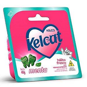 Snack Funcional Para Gatos Kelcat Menta 40g - Kelco