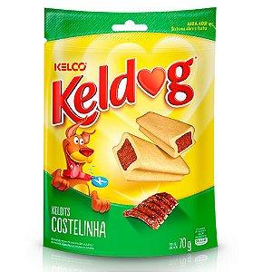 Snack Kelbits Keldog Costelinha 70g - Kelco