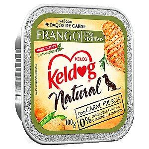 Keldog Natural Patê Frango Com Vegetais 100g