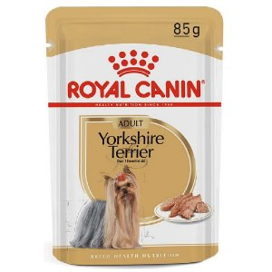 Ração Úmida Royal Canin Breeds Yorkshire Terrier Adult Wet 85g