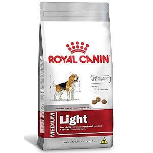 Ração Royal Canin Size Medium Adult Light Cães Adultos de Porte Médio Com Tendência à Obesidade 15kg