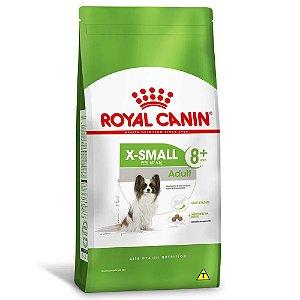 Ração Royal Canin Size X-Small Adult 8+ Cães Adultos Acima de 8 Anos Porte Miniatura 1kg
