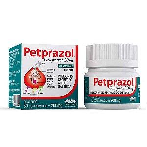 Petprazol 20Mg 30 Comprimidos - Vetnil