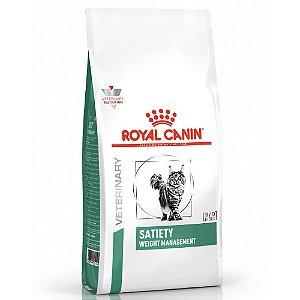 Ração Royal Canin Veterinary Diet Gatos Satiety 1,5kg