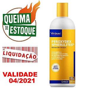 Shampoo Virbac Peroxydex Spherulites 500ml - LIQUIDAÇÃO