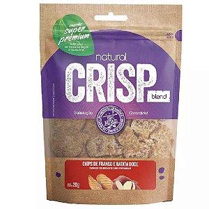 Snacks Chips De Frango E Batata Doce Natural Crisp 20g