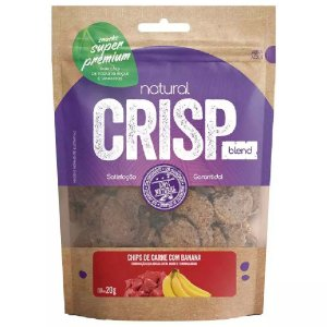Snacks Chips De Carne Com Banana Natural Crisp 20g