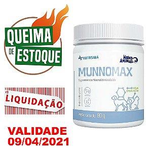 Nutrisana Munnomax 80g - Mundo Animal - LIQUIDAÇÃO