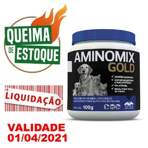 Aminomix Gold 100g - Vetnil VAL.01.04.21