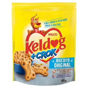 Biscoito Keldog +Crok Original 900g