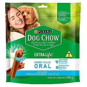 Dog Chow Petisco Saúde Oral Adultos Minis e Pequenos 105g