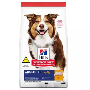 Ração Hill's Science Diet para Cães Adulto 7+ Sênior 6kg