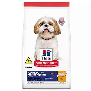 Ração Hills Science Diet Cães Adultos 7+ Pedaços Pequeno 6kg