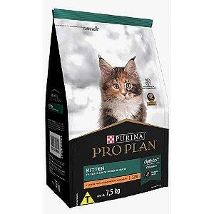 Ração Pro Plan Gatos Kitten Filhotes Frango 7,5kg Purina