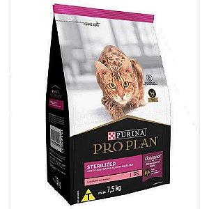 Ração Pro Plan Gatos Castrados Sterilized 7,5kg - Purina