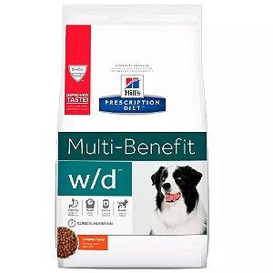Ração Hills Prescription Diet W/D Multi Benefit Canino 3,8kg
