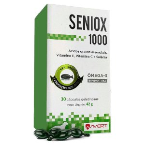 Seniox 1000mg 30 Cápsulas - Avert