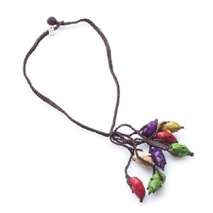 Colar Penca de Flor de Inajá