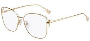 Óculos de Grau Fendi FF0390 J5G 56-16