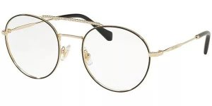 Óculos de Grau Miu Miu MU51RV 1AB1O1 52