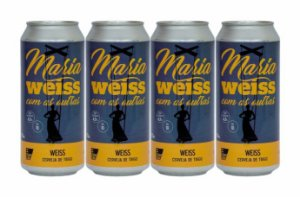 Pack 20: 4 Latas de Maria WEISS Com As Outras - 473 ml cada