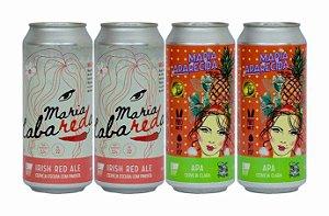 Pack 11: 2 latas da Maria LabaREDa com Pimenta e 2 latas da Maria APAecida - 473ml cada