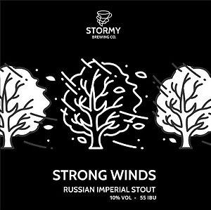 Guest Brewery - 1 Litro de Chopp RIS Strong Winds da Stormy Brewing - Growler Grátis - Verificar cidades atendidas na descrição