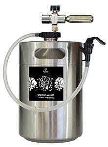 Guest Brewery - 5 Litros de Chopp RIS Strong Winds da Stormy Brewing - Verificar cidades atendidas na descrição