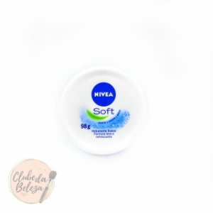 Creme Hidratante Nivea Soft 98g