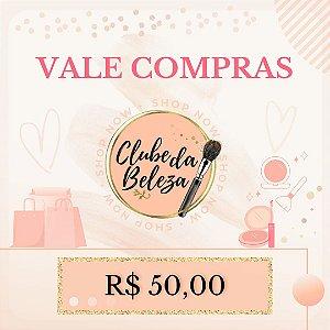 Vale Presente Clube da Beleza - R$ 50,00