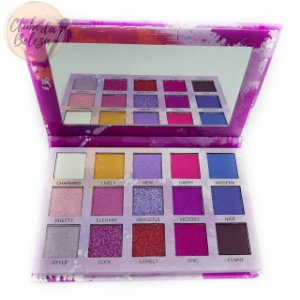 Paleta de Sombras Spotlight Eyeshadow Purple - Luisance