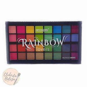 Paleta de Sombras Rainbow Lovers - SPCOLORS