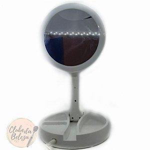 Espelho de Led + Porta Makes
