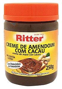 Creme de Amendoim com cacau 250g Ritter