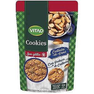 Cookie integral Castanha do Pará 80g - Vitao