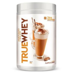 Whey Protein Hidrolisado e Isolado 418 g Cappuccino True Source