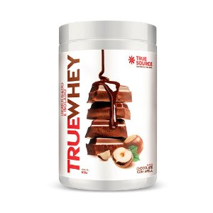 Whey Protein Hidrolisado e Isolado Chocolate com Avelã 418 g True Source
