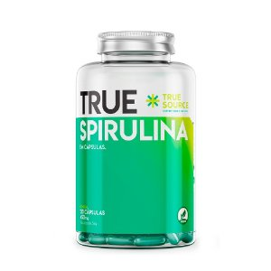 Spirulina 450 mg 120 capsulas True Source