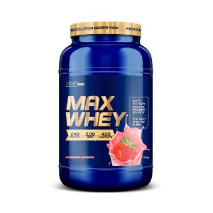 Proteína Max Whey  Isolado Strawberry  Milkshake 907 g  True Source