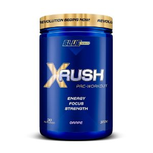 X Rush Pré- Workout  Uva 300 g True Source